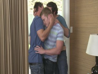 Gay Porn video of Chad, Christian & Riley